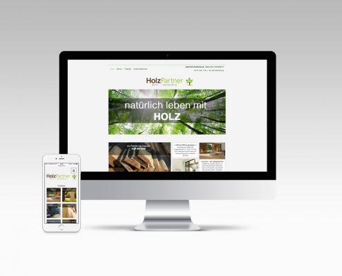 Holzpartner Webdesign