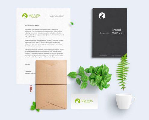 Corporate Design Via Vita